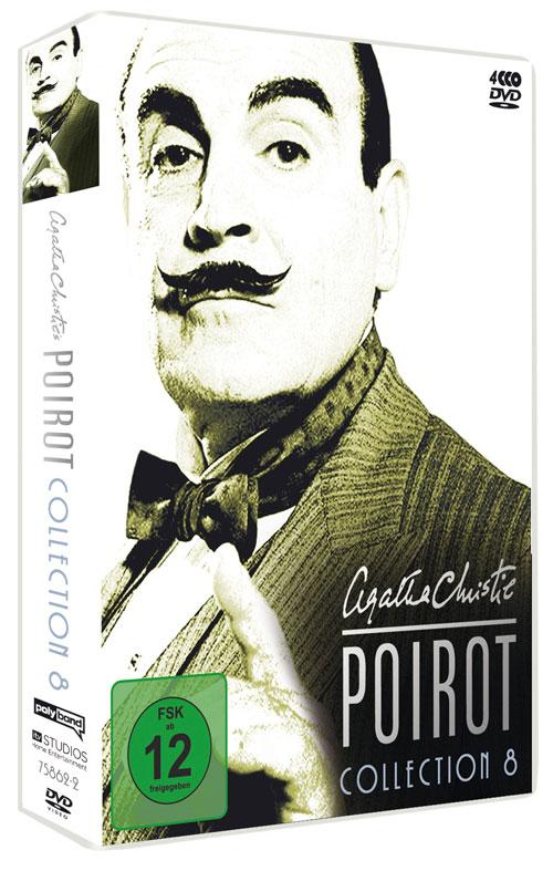 DVD Cover: Agatha Christie's Hercule Poirot - Collection 8