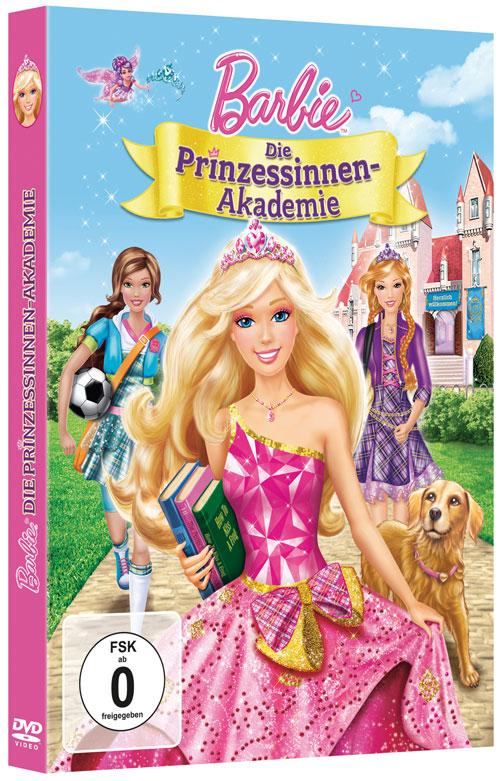 Grosses dvd cover zu barbie die prinzessinnen akademie