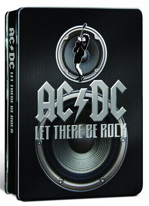 DVD Cover: AC/DC - Let there be rock - Ultimate Rockstar Edition