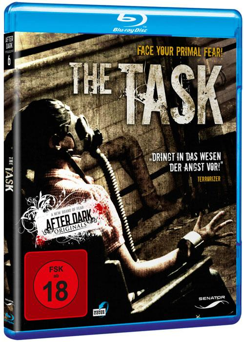 DVD Cover: The Task
