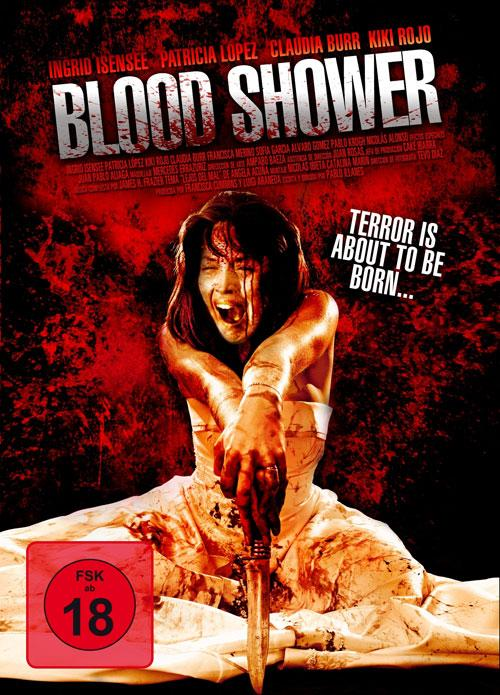 DVD Cover: Blood Shower