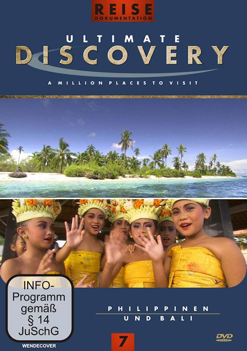 DVD Cover: Ultimate Discovery - Vol. 7 - Philippinen & Bali