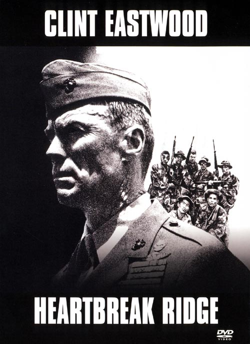 DVD Cover: Heartbreak Ridge