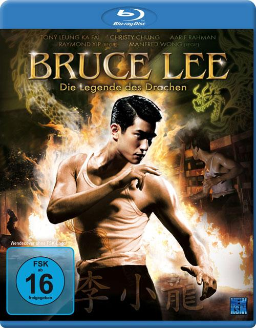 DVD Cover: Bruce Lee - Die Legende des Drachen