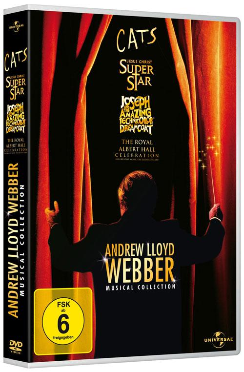 DVD Cover: Andrew Lloyd Webber - Musical Collection