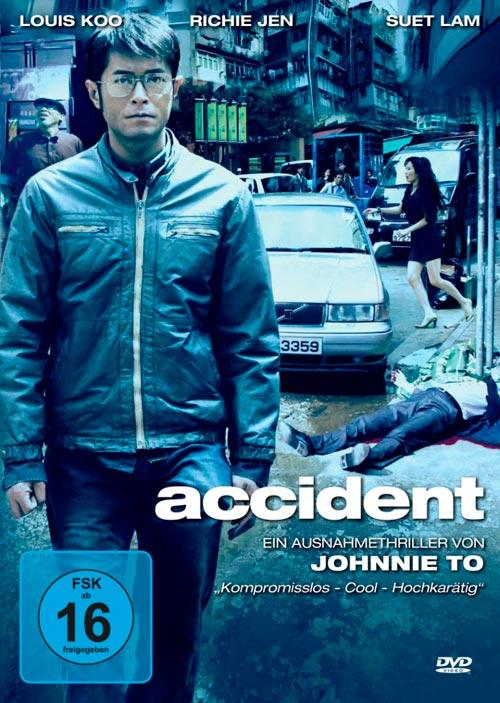 DVD Cover: Accident