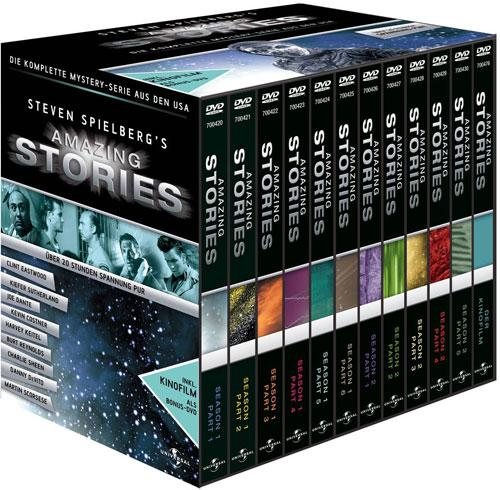 DVD Cover: Amazing Stories