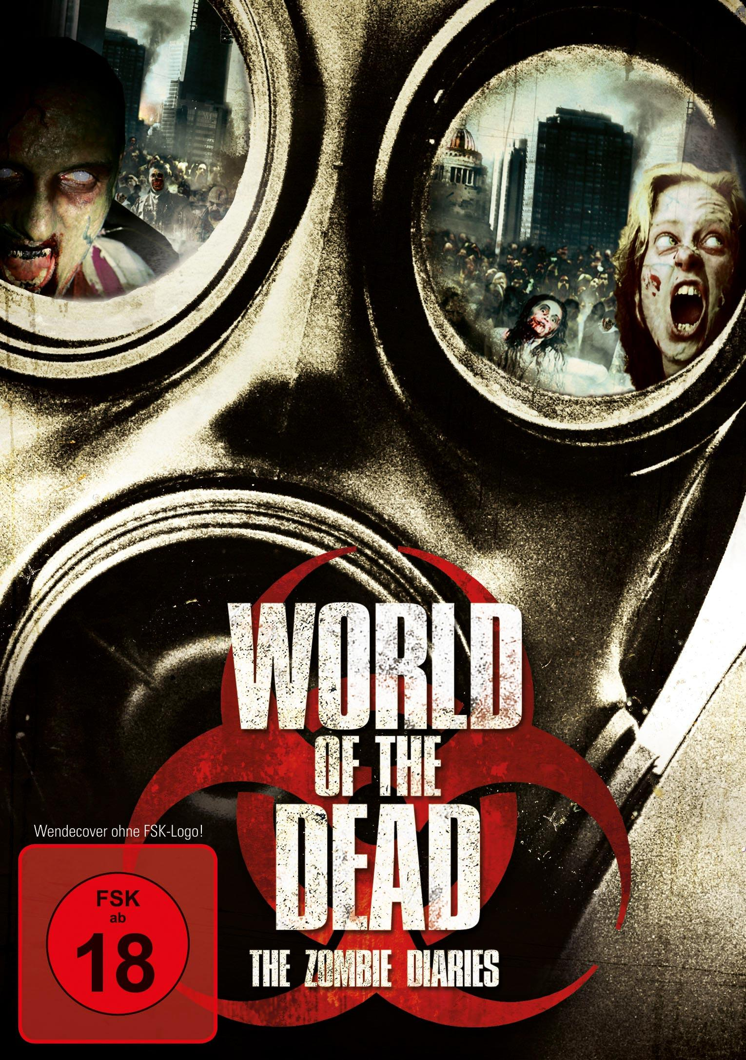 DVD Cover: World of the Dead - The Zombie Diaries