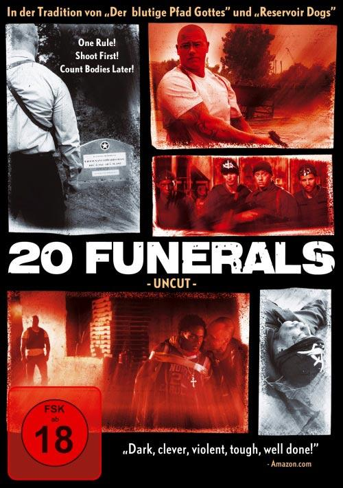 DVD Cover: 20 Funerals