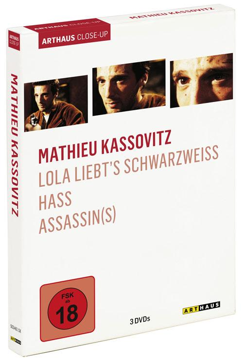 DVD Cover: Mathieu Kassovitz - Arthaus Close-Up