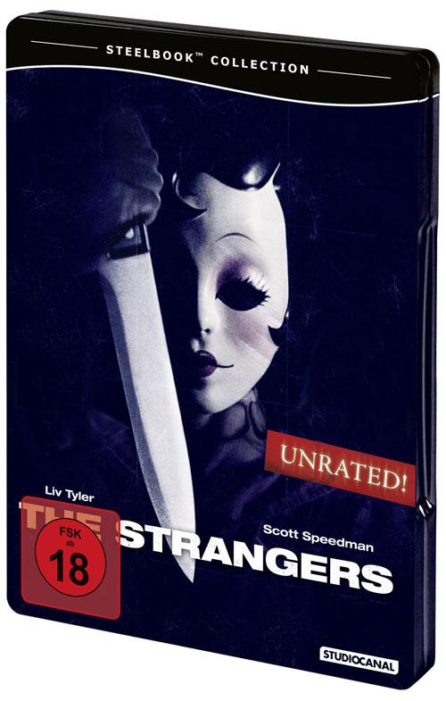 DVD Cover: The Strangers - Unrated - Steelbook Collection