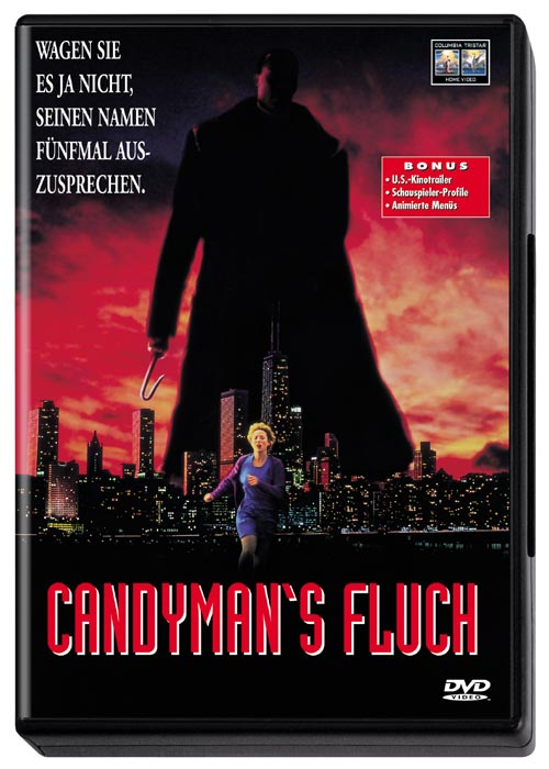 DVD Cover: Candyman's Fluch