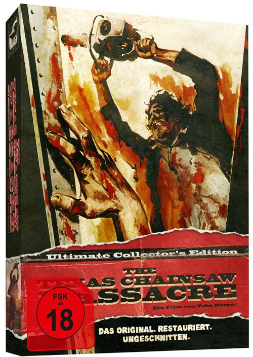 DVD Cover: The Texas Chainsaw Massacre - Ultimate Collector's Edition