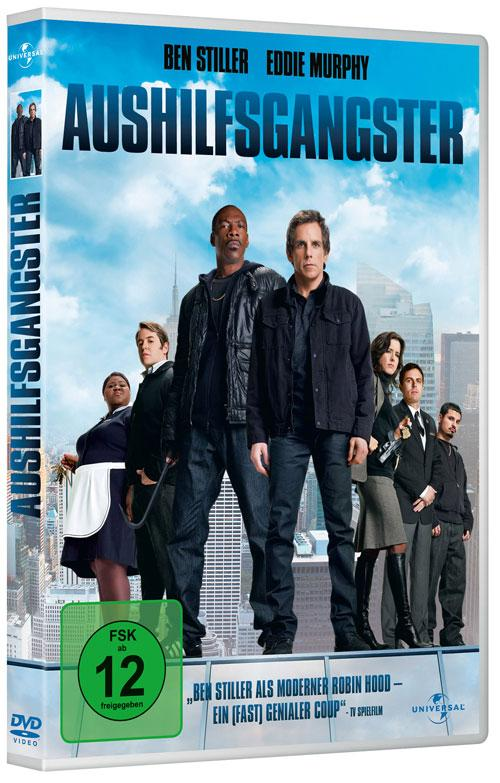 DVD Cover: Aushilfsgangster