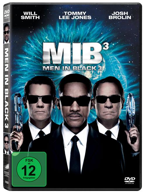 DVD Cover: Men in Black 3
