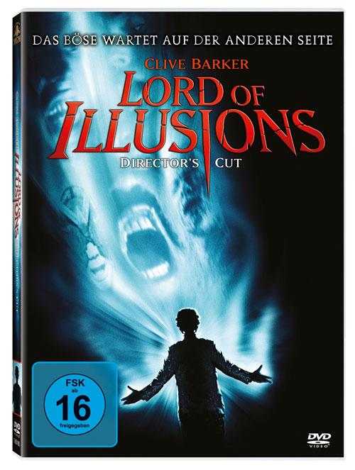 DVD Cover: Lord of Illusions