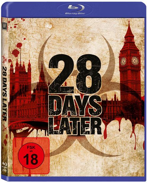 DVD Cover: 28 Days Later