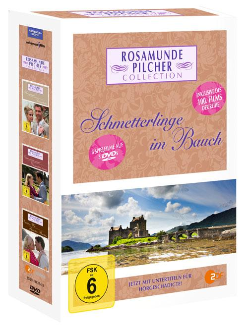 DVD Cover: Rosamunde Pilcher Collection 12 - Schmetterlinge im Bauch