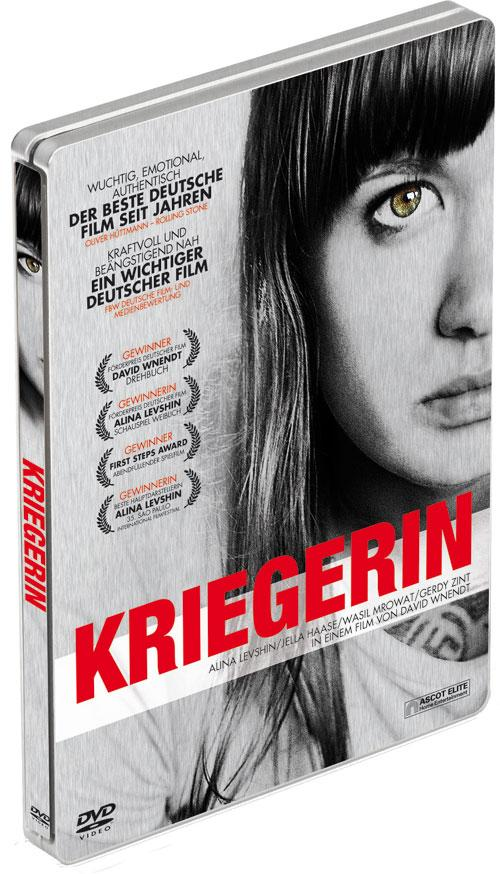 DVD Cover: Kriegerin - Steelbook
