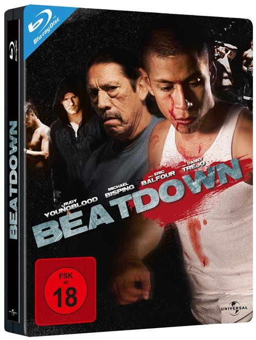 DVD Cover: Beatdown - Steelbook