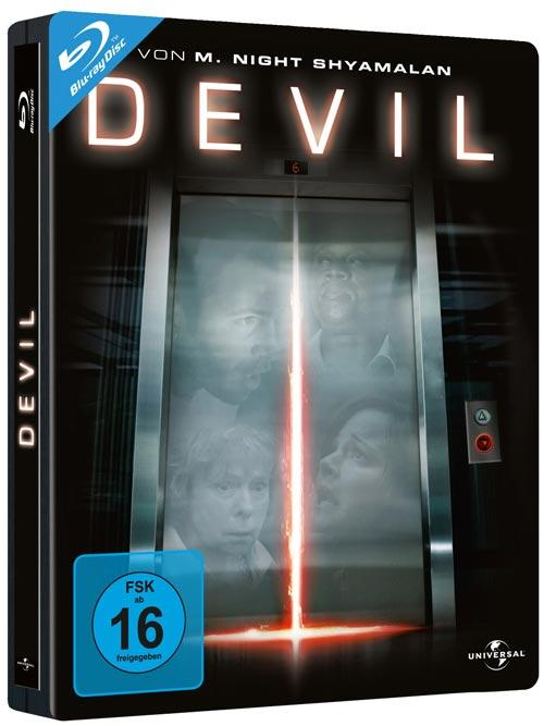 DVD Cover: Devil - Steelbook