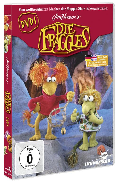 DVD Cover: Die Fraggles - DVD 1