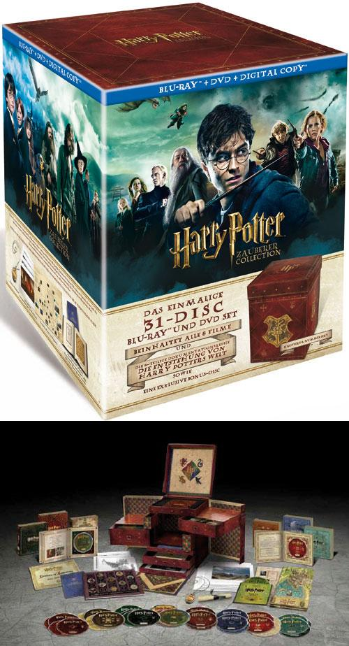 DVD Cover: Harry Potter Zauberer Collection