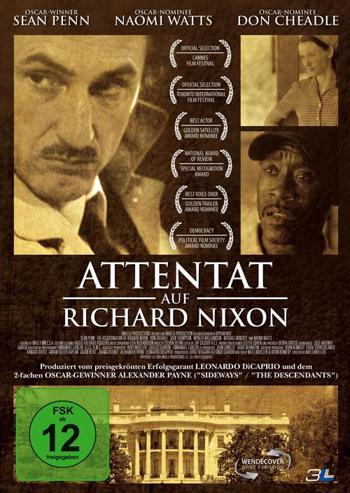 DVD Cover: Attentat auf Richard Nixon