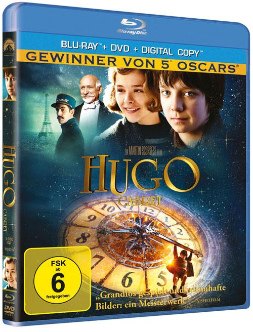 DVD Cover: Hugo Cabret