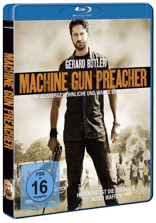 DVD Cover: Machine Gun Preacher