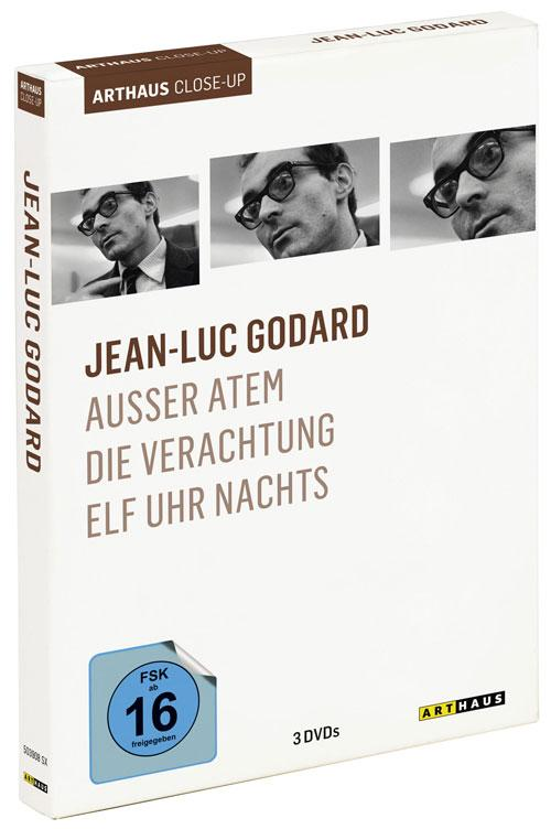 DVD Cover: Jean-Luc Godard - Arthaus Close-Up
