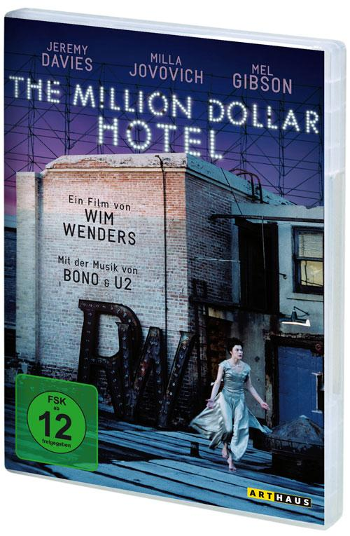 DVD Cover: The Million Dollar Hotel