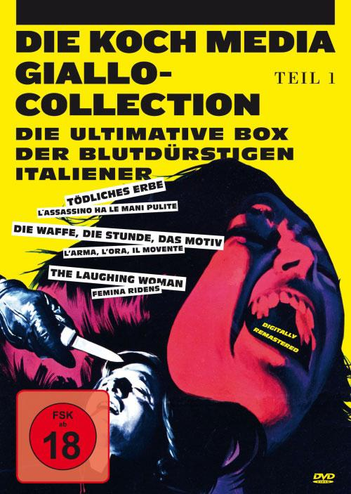 DVD Cover: Giallo-Collection - Teil 1