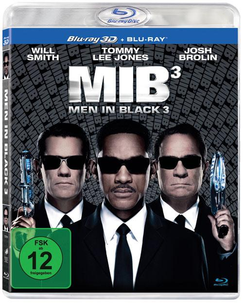 DVD Cover: Men in Black 3 - 3D