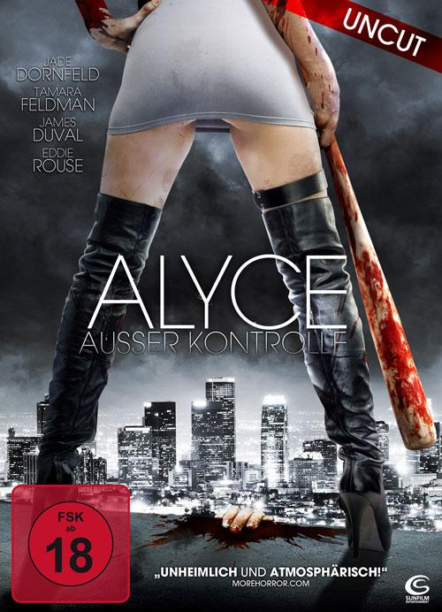 DVD Cover: Alyce - Ausser Kontrolle - uncut