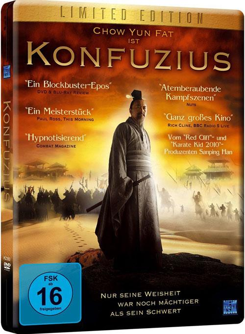 DVD Cover: Konfuzius - Limited Edition
