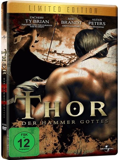 DVD Cover: Thor - Der Hammer Gottes - Limited Edition
