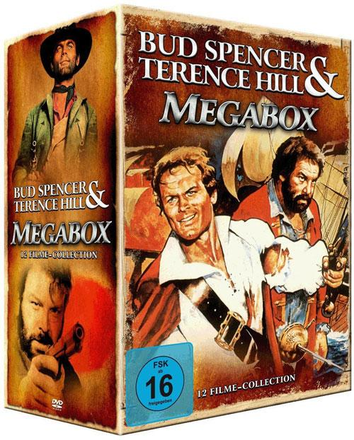 DVD Cover: Bud Spencer & Ternece Hill - Megabox