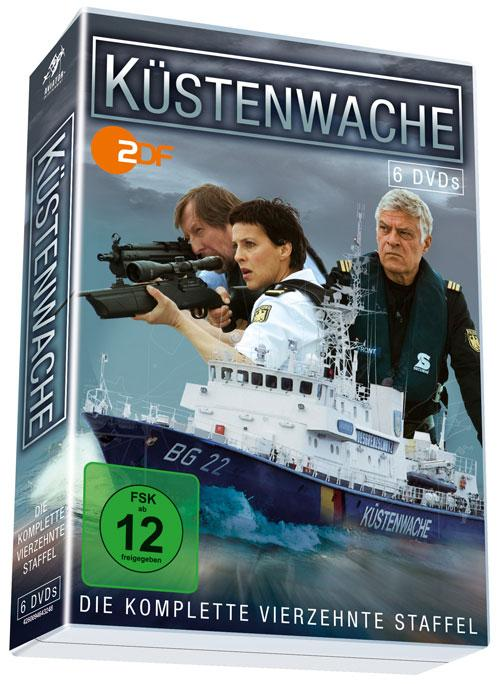 DVD Cover: K�stenwache - 14. Staffel