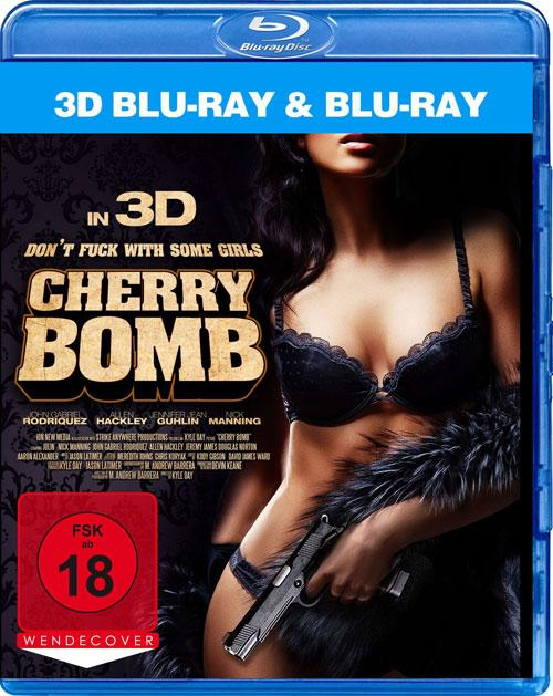 DVD Cover: Cherry Bomb - 3D