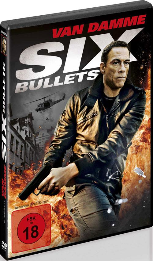DVD Cover: Six Bullets
