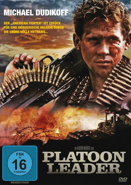 DVD Cover: Platoon Leader