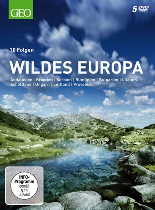 DVD Cover: Wildes Europa - GEO-Edition