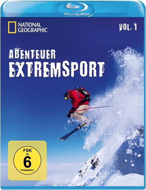 DVD Cover: National Geographic: Abenteuer Extremsport - Vol. 1
