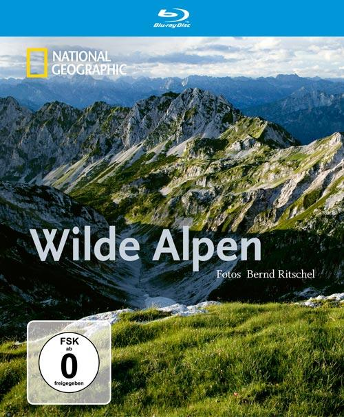 DVD Cover: National Geographic - Wilde Alpen - Bernd Ritschel