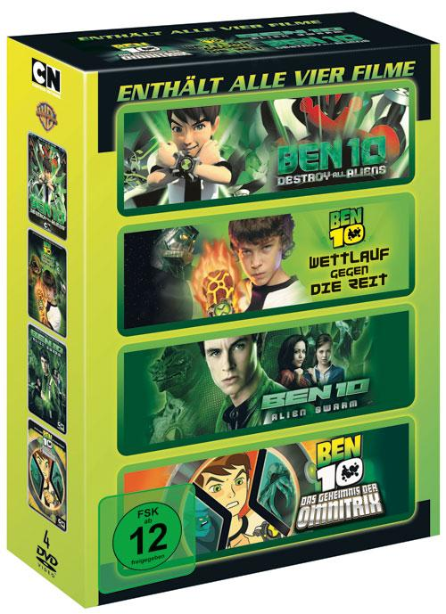 DVD Cover: Ben 10 - Filmbox