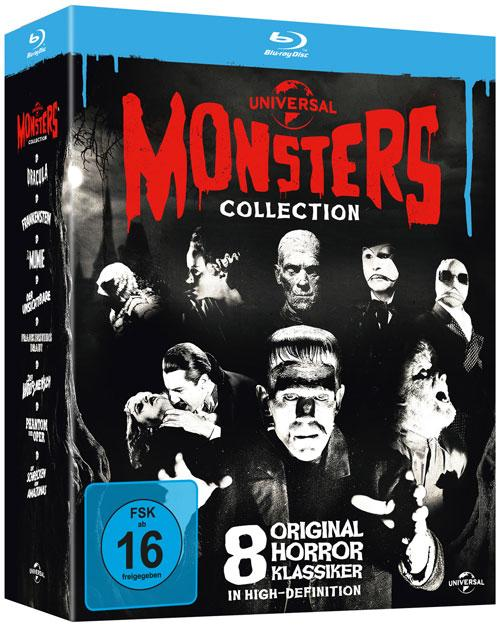 DVD Cover: Universal Monsters Collection - Limited Edition