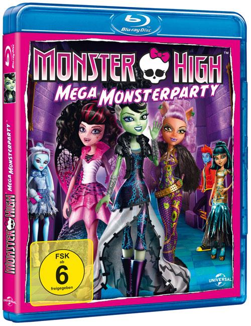DVD Cover: Monster High - Mega Monsterparty