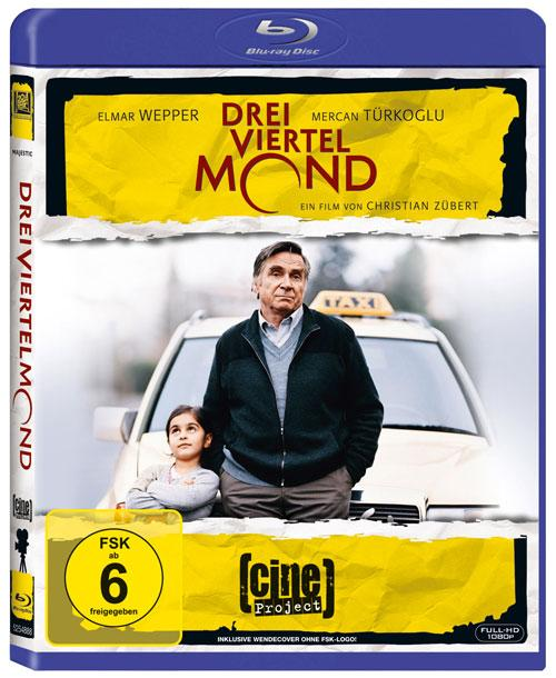 DVD Cover: CineProject: Dreiviertelmond