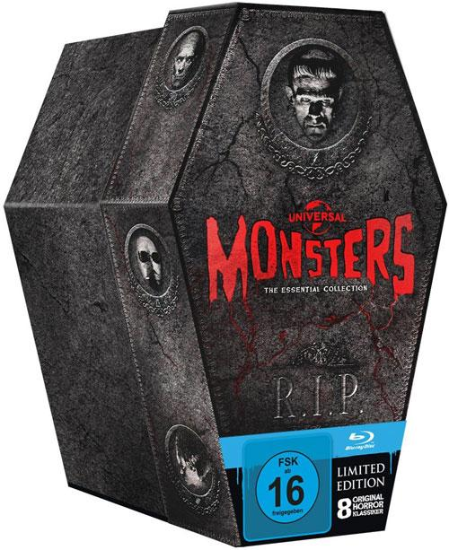 DVD Cover: Universal Monsters Sarg Collection
